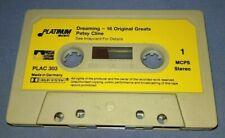 PATSY CLINE DREAMING cassette tape N117