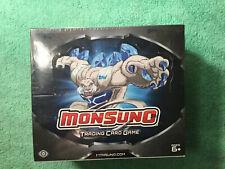 TOPPS 2012 Monsuno Trading Card Game TCG Hobby Booster Box 24 Packs NEW SEALED!