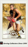 2003 Select AFL XL Ultra Rising Star Nominee RSN20 Ty Zantuck (Richmond)