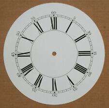 8 inch 200mm WHITE ROMAN ALUMINIUM CLOCK DIAL