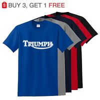 TRIUMPH T Shirt MOTORCYCLES T-shirt -up to 5x
