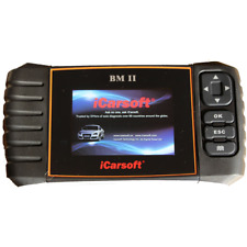 iCarsoft BM II (Fits BMW) OBD2 Diagnostic Code Reader Reset Scanner Tool