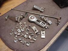 VintageLOT drum traps hardware temple block mount hoop clips parts cymbal hanger