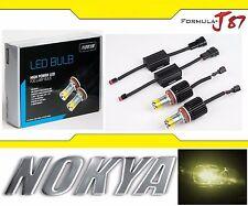 Nokya LED Light Bulb Kit 15W Yellow 2500K H11 Nok9518 Fog light Upgrade Lamp JDM
