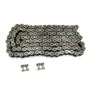 NICHE 530 Drive Chain 122 Links Standard Non O-Ring with Connecting Master Link