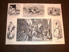 Illustrazioni Cesare Biseo Marocco De Amicis nel 1877 Matrimonio Cavalieri Kasen