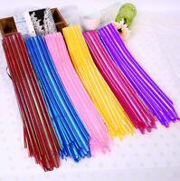 10Pcs Hot Organza Yarn Pull Bows Ribbons Wedding Party Flower Decor Gift Wrap  W