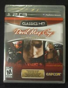 DEVIL MAY CRY HD Collection PS3 Complete NIB