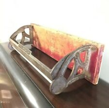 The Wright 18 Antique Mercantile Vtg Shop Paper Roll Holder Cutter Wall Version