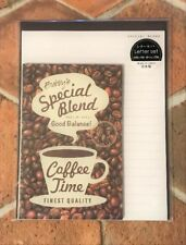 Letter Sheet Envelope Set Cafe Special Blend  Coffee Stationery Japanese GAIA