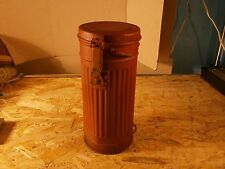 Original WWII German Gas Mask Container Box Canister WW2