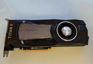 NVIDIA GeForce TITAN X 12GB GDDR5X PCI Express Graphics Card