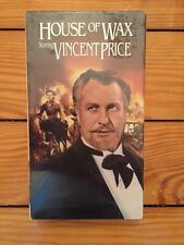 House Of Wax 1953 Vincent Price VHS SEALED