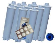 10 x Wasserfilter Scanpart wie Claris 67007 71311 blue ENA Jura Impressa + Tabs
