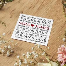 Personalised Handmade Wedding Day Card Engagement Anniversary Husband Boyfriend.