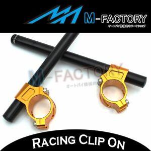 Racing CNC Clip-On Handle Bar Fit Yamaha FZR400 FZR600 All Year 19 18 17