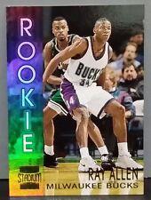Ray Allen Rookie subset 96-97 Stadium Club #R19