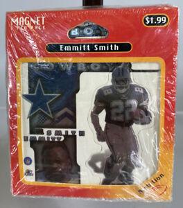 Vintage 1997 NFL Quarterback QB Club Emmitt Smith Dallas Cowboys 6-Pack Magnets