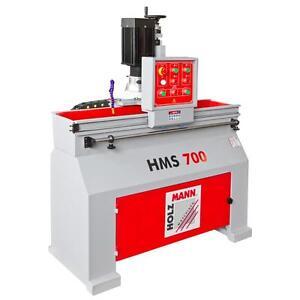 Holzmann Schärfmaschine HMS700 Schleifmaschine Hobelmesser 400V Kühlmittellpumpe