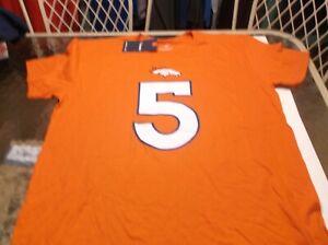 Joe Flacco Denver Broncos  NFL Team Apparel  shirt by Fanatics  L
