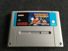 Jeu Super Nintendo The Magical Quest starring Mickey Mouse Très Bon état