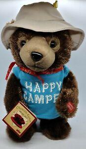 """Chantilly Lane Happy Camper Bear Dancing and Singing Plush """"Muddah Faddah song"""""""