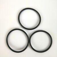 Neato Botvac O Ring Rubber Belt for the Side brush 3 pcs Black