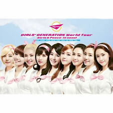 GIRLS' GENERATION WORLD TOUR[ GIRLS & PEACE IN SEOUL ]DVD+PHOTOBOOK+POSTER SNSD