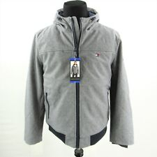 NEW Tommy Hilfiger Softshell Bomber Jacket Mens Large...