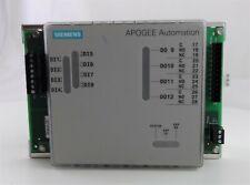 Siemens APOGEE Automation Modular Equipment Controller 200 Series 549-205