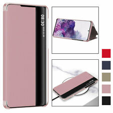 For Samsung Galaxy Note 20 Ultra Smart View Leather Thin Flip Stand Case Cover