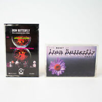 Iron Butterfly: In-A-Gadda-Da-Vida & The Best of Light and Heavy Cassette Tapes
