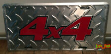 4X4 LICENSE PLATE FRAME chevy trucks ford trucks lifted mudder diesel