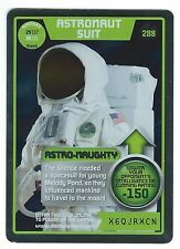 Doctor Who Monster Invasion Extreme Rare Card #288 Astronaut Suit Good Condition