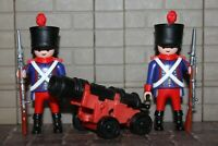 Französischer 2 Kanoniere  Zustand Uniform    Custom  Napoleon  Playmobil  XX32