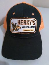 Herky's Hawk Land NCAA Snapback Trucker Hat Patch NWT