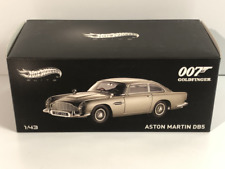 James Bond 007 Goldfinger Aston Martin DB5 1:43 Hot Wheels Elite BLY26
