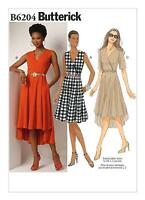 Butterick Easy SEWING PATTERN B6204 Misses Dress 6-14 Or 14-22