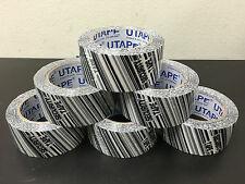 "6 Rolls Security Box Carton Sealing Packing Tape 2""x330' 1.8mil UTAPE Brand"