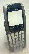 Original Oem Geniune Nokia 6800 Silver Housing Faceplate Fascia Front Cover