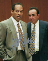 ROBERT SHAPIRO O.J. SIMPSON TRIAL LAWYER SIGNED AUTHENTIC 8X10 PHOTO 2 w/COA