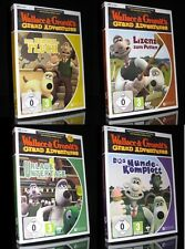 PC-Wallace & Gromit - 4 Giochi-Set-Grand Adventures *** NUOVO ***