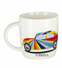 Bug Beetle Coffee Mug Cup Rainbow Volkswagen VW Collection by BRISA BETA02