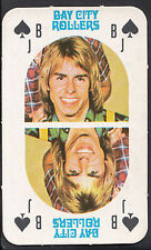Monty Gum 1970's Gum Card - The Bay City Rollers Music Card - Jack of Spades