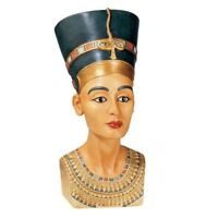 Queen Nefertiti Egyptian Statue Royal Sculpture Ruler of the Nile Bust