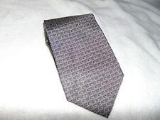 BRAND New GUCCI  Men's Logo  GG Woven 100% Silk Tie Gray  Grey  $249