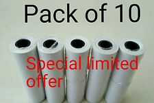 Pack of 10 Kane flue gas analyser thermal printer paper tp5 Fits Anton and Testo