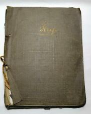 More details for ww2 royalty/movie stars/politicians scrapbook from ulster 1940s