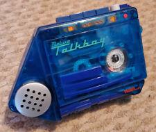 Deluxe Talkboy Transparente Azul [Tiger Electronics] de estilo vintage y retro solo en casa 2