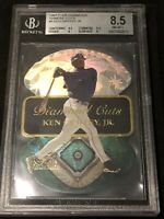 🔥9.5 SUBS🔥 1997 Flair SHOWCASE KEN GRIFFEY JR DIAMOND CUTS DIECUT, MT BGS 8.5